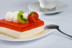 θερινό γλυκό κέικ Στοκ Εικόνες