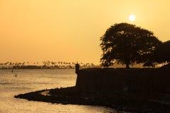 Θερινό ηλιοβασίλεμα San Juan Στοκ Φωτογραφίες