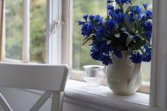 Θερινό ηλιοστάσιο στο θερινό εξοχικό σπίτι Στοκ εικόνες με δικαίωμα ελεύθερης χρήσης