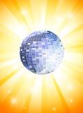 θερινό θέμα disco Στοκ Εικόνες