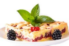 Θερινό κέικ Στοκ φωτογραφίες με δικαίωμα ελεύθερης χρήσης