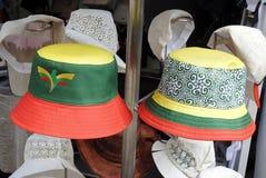 Θερινό καπέλο για την πώληση Στοκ Εικόνα