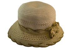 Θερινό καπέλο γυναικών ` s Στοκ φωτογραφίες με δικαίωμα ελεύθερης χρήσης