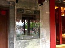 θερινό παράθυρο αντανάκλασης γραφείων οικοδόμησης astana του 2010 αρχιτεκτονική ιστορικός Lhong 1919 Τουριστικό αξιοθέατο Μπανγκό στοκ εικόνα