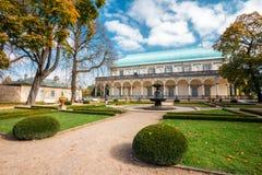 Θερινό παλάτι βασίλισσας Anne's στην Πράγα, τσεχικά Στοκ Εικόνες