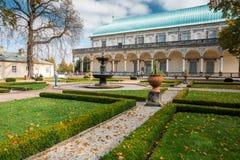 Θερινό παλάτι βασίλισσας Anne's στην Πράγα, τσεχικά Στοκ φωτογραφίες με δικαίωμα ελεύθερης χρήσης
