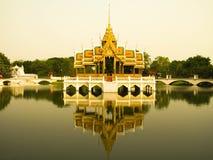 Θερινό παλάτι-Ayutthaya-κτύπημα PA μέσα Στοκ Φωτογραφίες