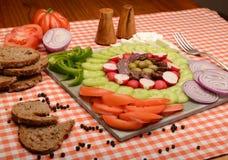 Θερινό πιάτο Στοκ εικόνες με δικαίωμα ελεύθερης χρήσης