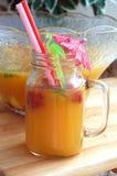 Θερινό ποτό φρούτων Στοκ Εικόνες