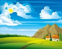 Θερινό σπίτι Ελεύθερη απεικόνιση δικαιώματος