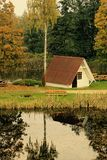 Θερινό σπίτι Στοκ φωτογραφία με δικαίωμα ελεύθερης χρήσης