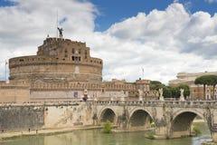 Θερινό σπίτι sant'angelo του Castle του παπά Francis στη Ρώμη Στοκ εικόνα με δικαίωμα ελεύθερης χρήσης