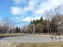 Θερινό στάδιο στο πάρκο στοκ φωτογραφία