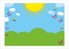 Θερινό σχέδιο Στοκ εικόνες με δικαίωμα ελεύθερης χρήσης