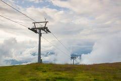 Θερινό τοπίο σε Gerlitzen Apls, Αυστρία Στοκ φωτογραφία με δικαίωμα ελεύθερης χρήσης