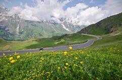 Θερινό τοπίο στις αυστριακές Άλπεις στοκ φωτογραφία