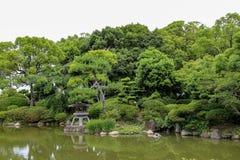 Θερινό τοπίο της Ιαπωνίας Στοκ Φωτογραφία