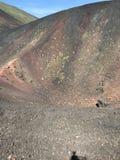Θερινό 2016 τοπίο της Σικελίας Etna στοκ εικόνα με δικαίωμα ελεύθερης χρήσης