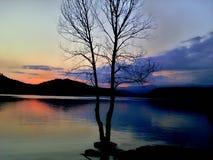 Θερινό λυκόφως Στοκ εικόνες με δικαίωμα ελεύθερης χρήσης
