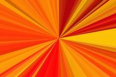 Θερινό υπόβαθρο, θαυμάσια φλόγα φακών έκρηξης ήλιων Καυτός με το διάστημα αντιγράφων αφηρημένες ακτίνες ανασκό Σχέδιο ακτίνων λωρ διανυσματική απεικόνιση