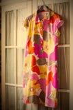 Θερινό φόρεμα βαμβακιού Στοκ εικόνες με δικαίωμα ελεύθερης χρήσης