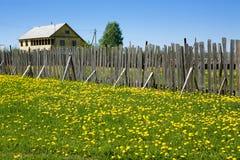 θερινό χωριό Στοκ εικόνες με δικαίωμα ελεύθερης χρήσης
