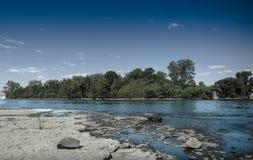 Θερινό panoama Στοκ φωτογραφία με δικαίωμα ελεύθερης χρήσης