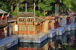 θερινό suzhou οδών παλατιών του & Στοκ Εικόνα