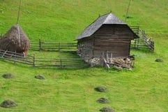 θεριστής Ρουμανία σπιτιών Στοκ φωτογραφία με δικαίωμα ελεύθερης χρήσης
