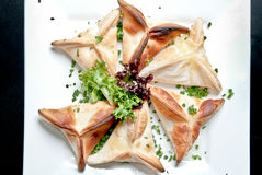 Θερμά πρόχειρα φαγητά Στοκ Εικόνες