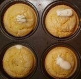 Θερμά Muffins Στοκ εικόνα με δικαίωμα ελεύθερης χρήσης