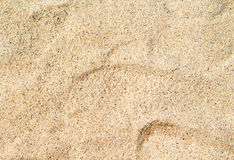 Θερμή κινηματογράφηση σε πρώτο πλάνο άμμου παραλιών για το υπόβαθρο Τροπική φωτογραφία παραλιών Στοκ Φωτογραφίες