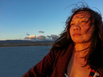 Θερμή πυράκτωση του ηλιοβασιλέματος στοκ εικόνες με δικαίωμα ελεύθερης χρήσης