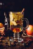 Θερμαμένο η Apple ποτό Στοκ Εικόνες