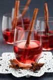 Θερμαμένο κρασί Στοκ εικόνες με δικαίωμα ελεύθερης χρήσης
