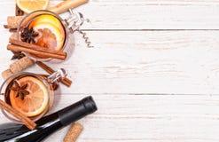 θερμαμένο κρασί Στοκ εικόνα με δικαίωμα ελεύθερης χρήσης