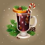θερμαμένο Χριστούγεννα κ&r απεικόνιση αποθεμάτων