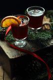 θερμαμένο Χριστούγεννα κ&r Στοκ φωτογραφίες με δικαίωμα ελεύθερης χρήσης