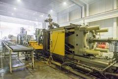 Θερμαντικά σώματα τήξης και θέρμανσης ζωγραφικής στην κατασκευή Στοκ Εικόνα