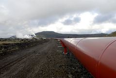 θερμαντικοί σωλήνες της Ισλανδίας Στοκ φωτογραφία με δικαίωμα ελεύθερης χρήσης