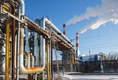 Θερμαντικός κεντρικός αγωγός Στοκ εικόνα με δικαίωμα ελεύθερης χρήσης