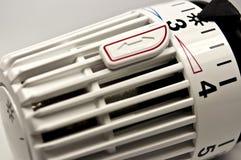 Θερμαντικό σώμα θερμοστατικό Στοκ φωτογραφία με δικαίωμα ελεύθερης χρήσης