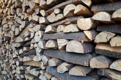 Θερμαντικό υλικό ξύλο Στοκ Εικόνες