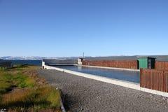 Θερμικά λουτρά στο νησί Στοκ εικόνα με δικαίωμα ελεύθερης χρήσης