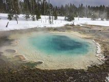 Θερμική λίμνη Yellowstone Στοκ φωτογραφίες με δικαίωμα ελεύθερης χρήσης