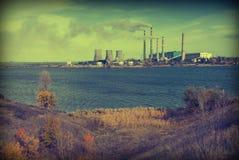 Θερμική δύναμη station_v Στοκ φωτογραφία με δικαίωμα ελεύθερης χρήσης