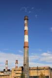 Θερμικός σταθμός παραγωγής ηλεκτρικού ρεύματος στοκ εικόνες