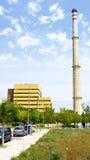 Θερμικός σταθμός παραγωγής ηλεκτρικού ρεύματος Foix Στοκ φωτογραφία με δικαίωμα ελεύθερης χρήσης
