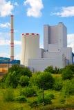 Θερμικός σταθμός παραγωγής ηλεκτρικού ρεύματος στη Δημοκρατία της Τσεχίας Στοκ Εικόνες