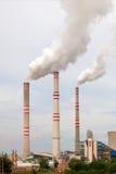 Θερμικός σταθμός παραγωγής ηλεκτρικού ρεύματος στη Δημοκρατία της Τσεχίας Στοκ Εικόνα